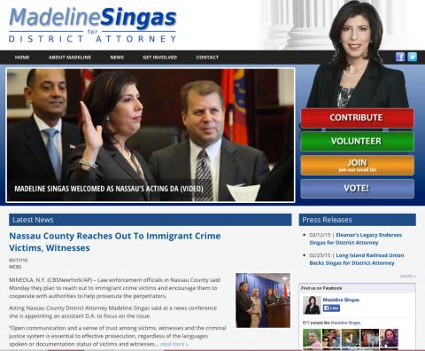 Madeline Singas for Nassau District Attorney