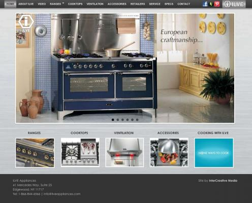ILVE Appliances - High-End Oven Ranges
