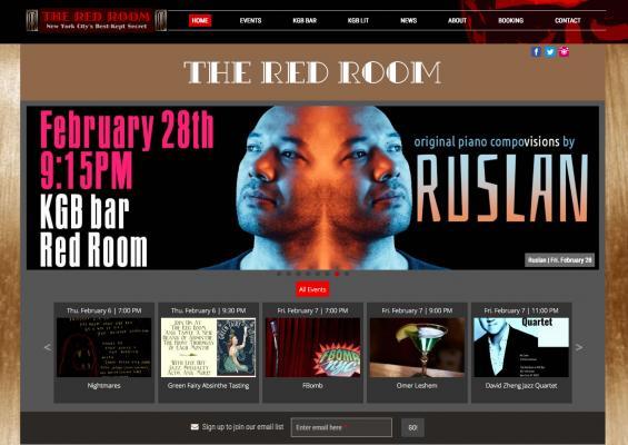 Red Room at KGB Bar