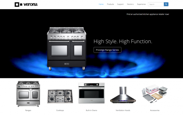 Verona Appliances - Luxury Appliances, Italian-made