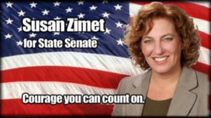 """Susan Zimet - """"Courage"""""""