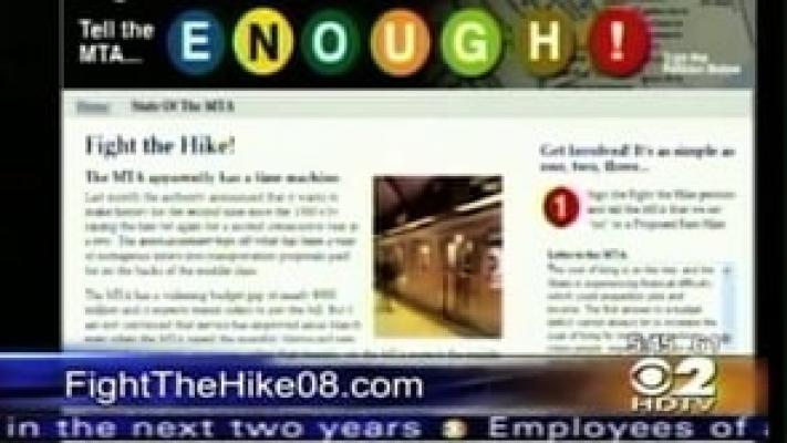 "CBS News - ""Fight the Hike"" Website"